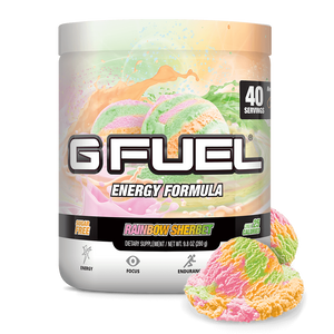 G Fuel Tub Rainbow Sherbet - 40 Servings