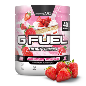 G Fuel Strawberry Shortcake Tub - 40 Servings