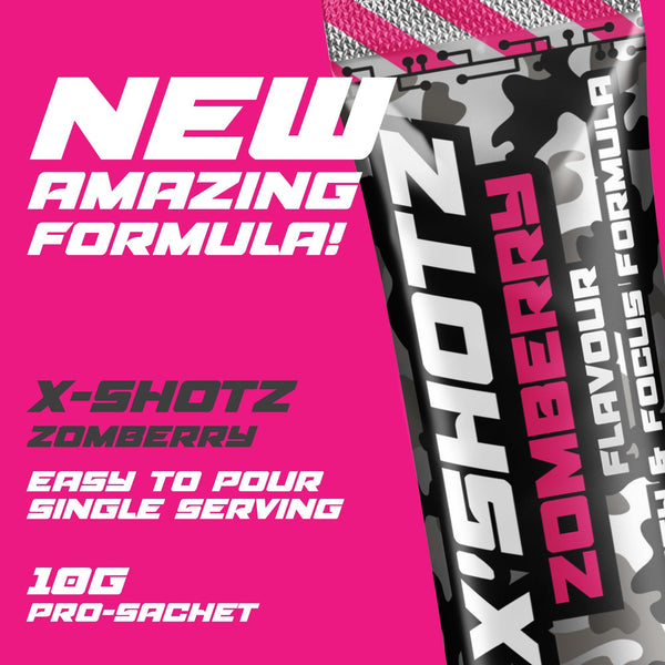 X-SHOTZ SIX PACK (ZOMBERRY FLAVOUR) - fatalgrips