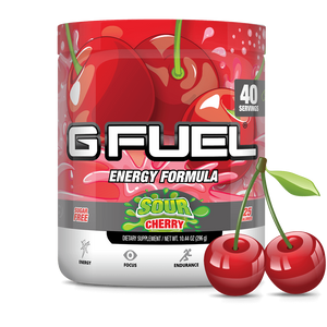 G Fuel Sour Cherry Tub - 40 Servings