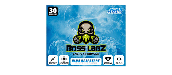 Boss Labz Blue Raspberry - 30 Servings