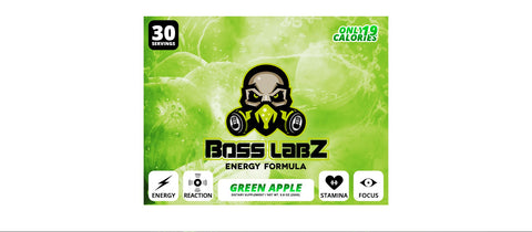 Boss Labz Green Apple - 30 Servings