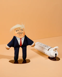 Donald Trump cat toy with fake tan