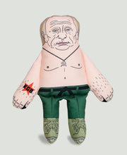 Load image into Gallery viewer, Vladimir Putin dog toy front