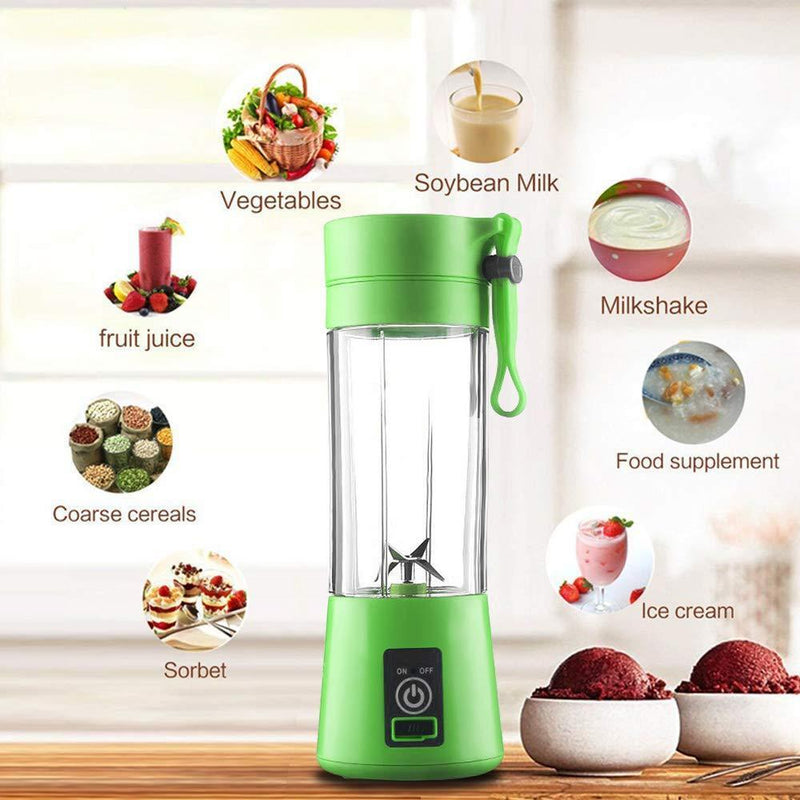 Mini Portable Electric Juice Cup【The Second 50% OFF】