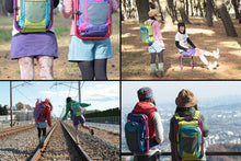 Load image into Gallery viewer, Adventure Backpack Turns Into a Chair When Needed