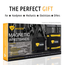 Load image into Gallery viewer, Magnetic Wristband for Holding Screws, Tools, Set of 2 Sizes