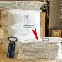 Load image into Gallery viewer, Vacuum Bag Storage Home Organizer