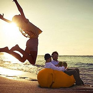 Outdoor Lazy Pocket Portable Air Fast Inflatable Sofa Bed Inflatable Cushion Lunch Break Beach Sleeping Bag