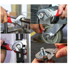 Load image into Gallery viewer, 2Pcs/set Multi-function Universal Snap\'N Grip Grip Adjustable Spanner Wrench