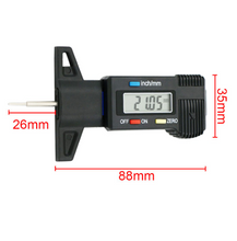 Load image into Gallery viewer, Professional Digital Display 0 - 25mm Vernier Caliper