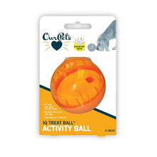 Load image into Gallery viewer, Our Pets IQ Treat Ball Interactive Food Dispensing Dog Toy
