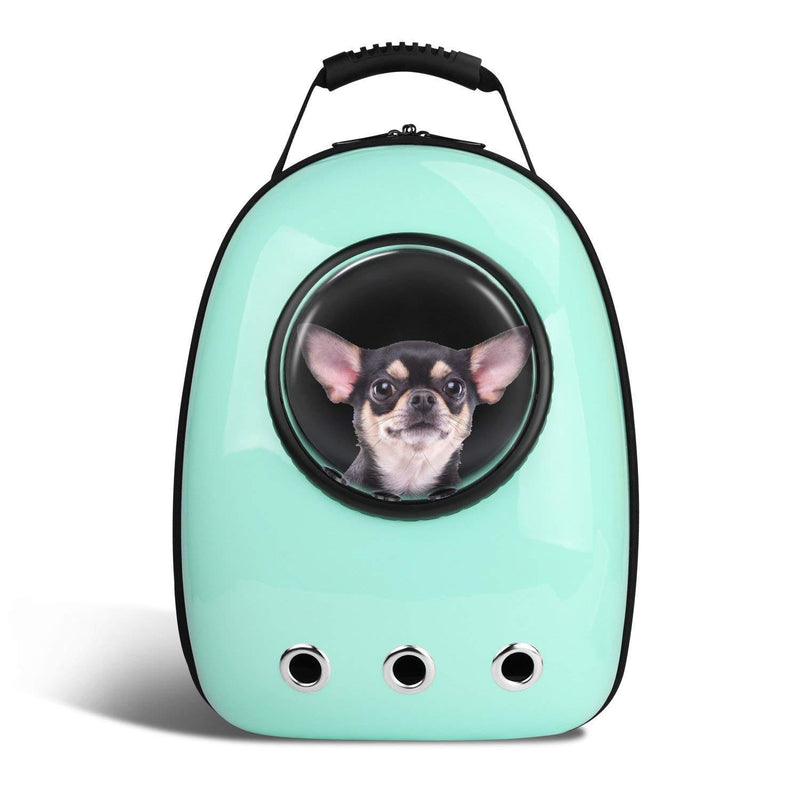 (Free Shipping)-Pet Space Capsule Carrier Backpack for Cats Petite Dogs & Small Animals