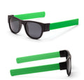 Creative Foldable Men Women Sunglasses Wristband Slappable Polarized Hiking Eyewear