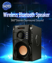 Load image into Gallery viewer, 2019 The Best Bluetooth Speaker Subwoofer Supper Bass Wireless Speakers Dancing Boombox