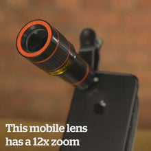 Load image into Gallery viewer, HD 12x Optical Zoom Camera Telescope Lens