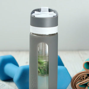 Pressed Water Bottle
