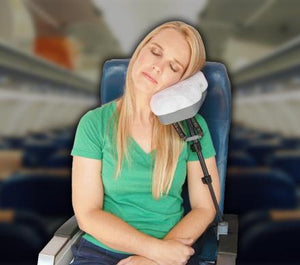 A Multi-Function Travel Pillow That Can Charge Your Phone