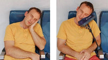 Load image into Gallery viewer, A Multi-Function Travel Pillow That Can Charge Your Phone