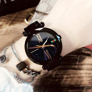 STAR-STUDDED MAGNETIC LADIES WATCH( 70% OFF )
