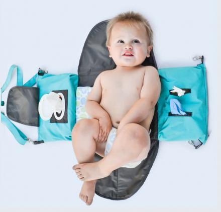 The Ultimate Portable Diaper Changing Station