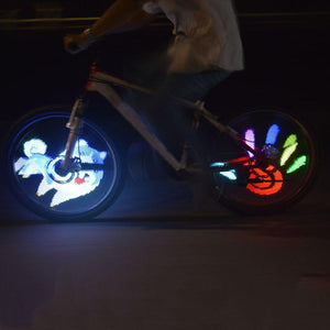 Programmable Bicycle LED Wheel Light