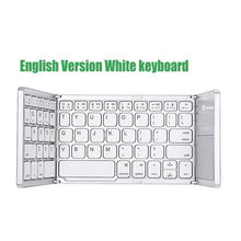 Load image into Gallery viewer, 50% OFF - Universal Bluetooth Foldable Keyboard(Suitable for mobile phones, tablets, computers)
