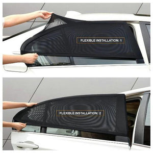 80% Discount Today--2Pcs Car Window Sunshade Curtain