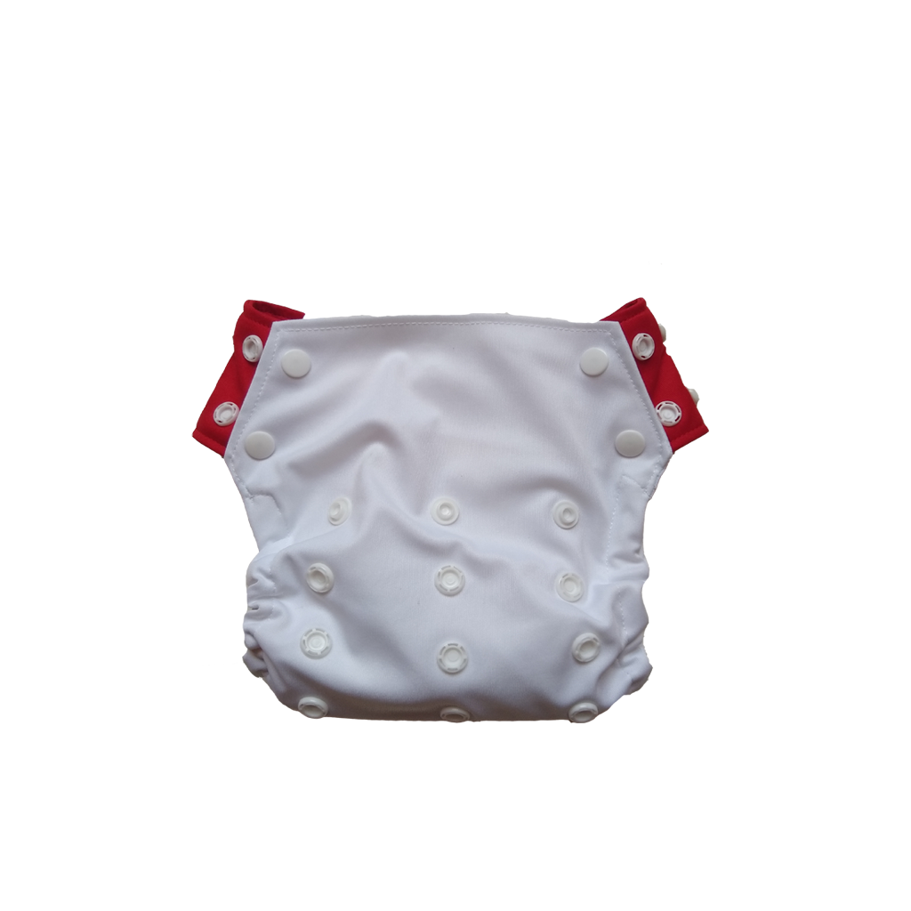 Innate Cloth Diaper Cover - White