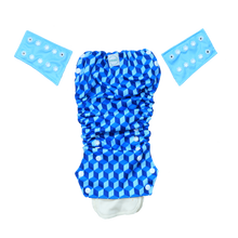 Innate AIO Cloth Diaper - Building Blocks of Life | Blue