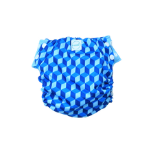 Innate Slim Fit Pocket Cloth Diaper - Building Blocks of Life | Blue