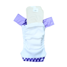 Innate Slim Fit Pocket Cloth Diaper - Building Blocks of Life | Purple