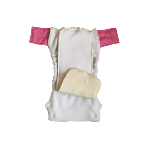 Innate Stay-dry AIO Cloth Diaper - Pink Stripes