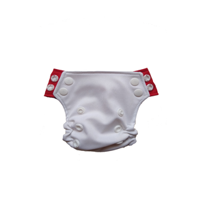 Innate Newborn  AIO Cloth Diaper -White