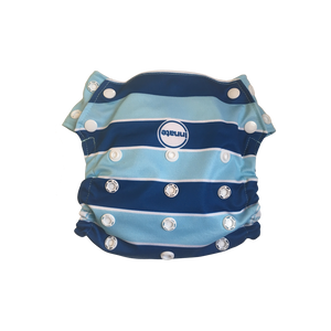 Innate Regular Fit Pocket Cloth Diaper - Blue Stripes