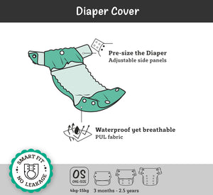 Innate Cloth Diaper Cover - Shapes
