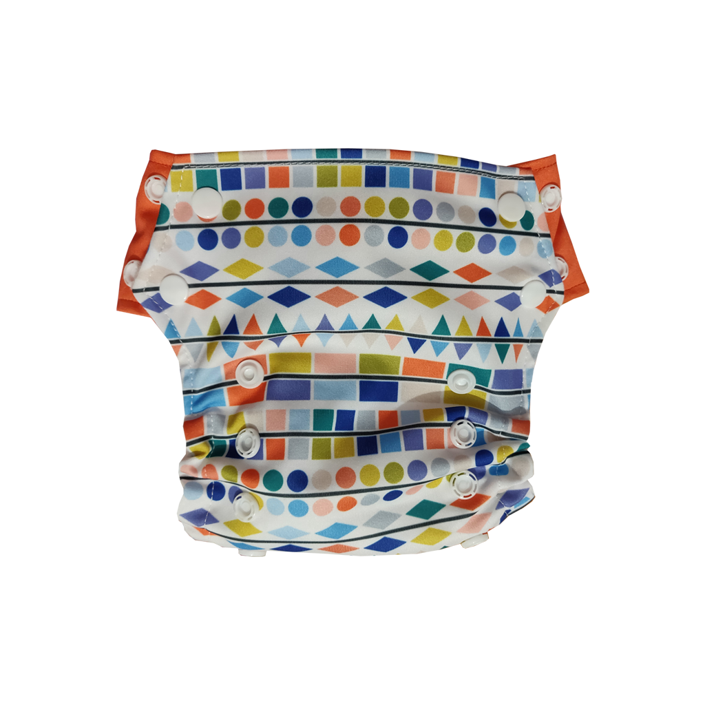 Innate Slim Fit Pocket Cloth Diaper - Shapes