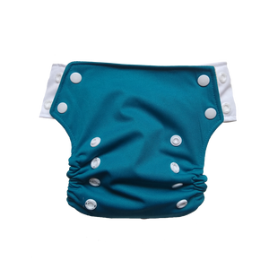Innate Slim Fit Pocket Cloth Diaper - Yale Green