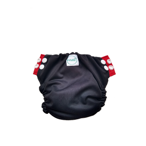 Innate Newborn  AIO Cloth Diaper - Black