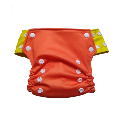 Innate AIO Cloth Diaper - Orange