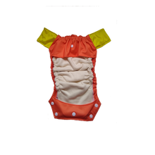 Innate Cloth Diaper Cover - Orange