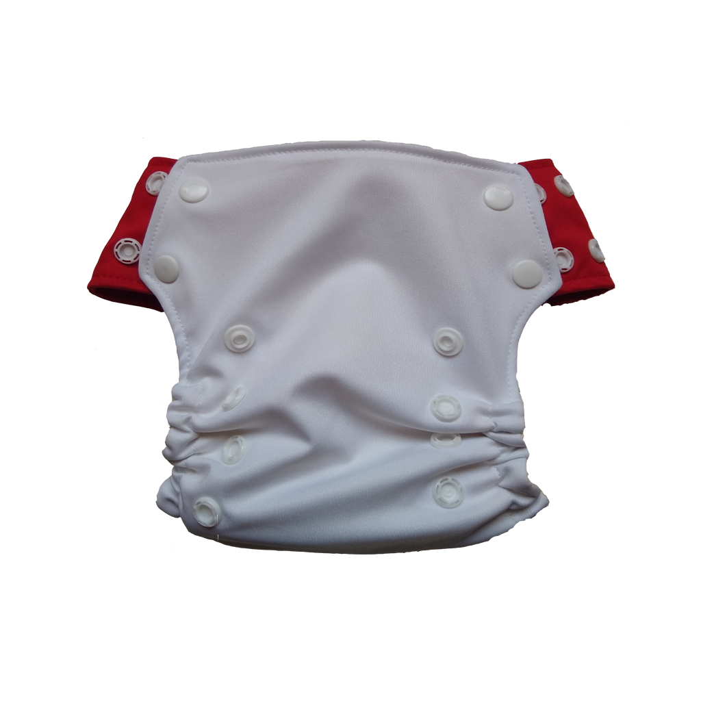 Innate Slim Fit Pocket Cloth Diaper - White