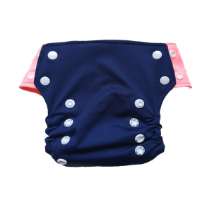 Innate AIO Cloth Diaper - Navy Blue