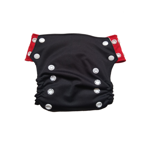 Innate AIO Cloth Diaper -Black