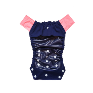 Innate Cloth Diaper Cover - Navy Blue