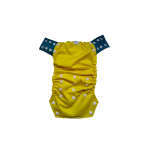 Innate Cloth Diaper Cover - Yellow