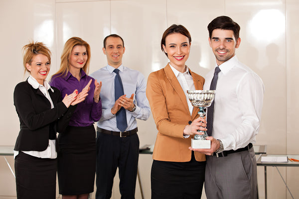 3 Benefits of Giving Trophies and Awards to Your Employees