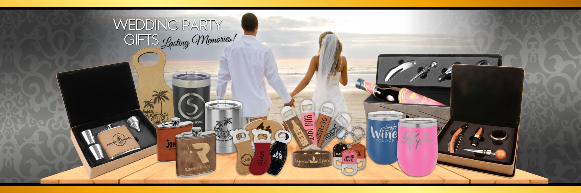 Wedding Gifts Louisiana Trophies