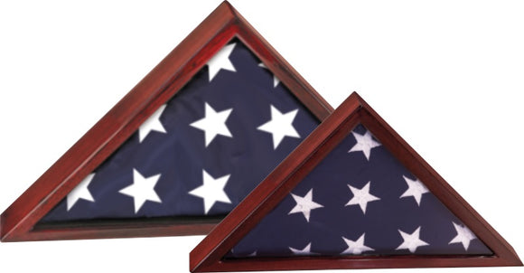 Rosewood High Gloss Piano Finish Flag Cases | For 3' x 5' and 5' x 9-1/2' Flags