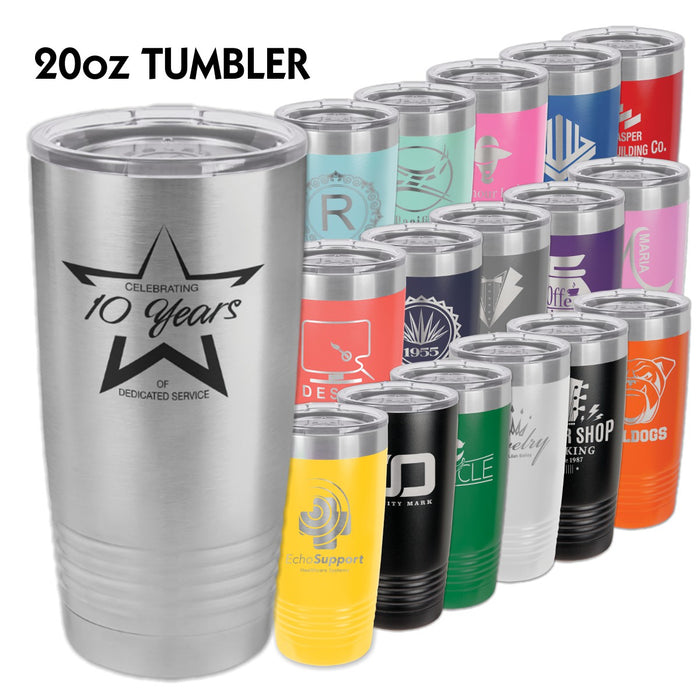 20 oz. Polar Camel Ringneck Tumblers | 16 Colors Available